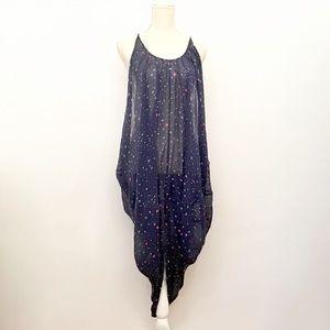 Mara Hoffman Swim Draped Star Print Dress Coverup